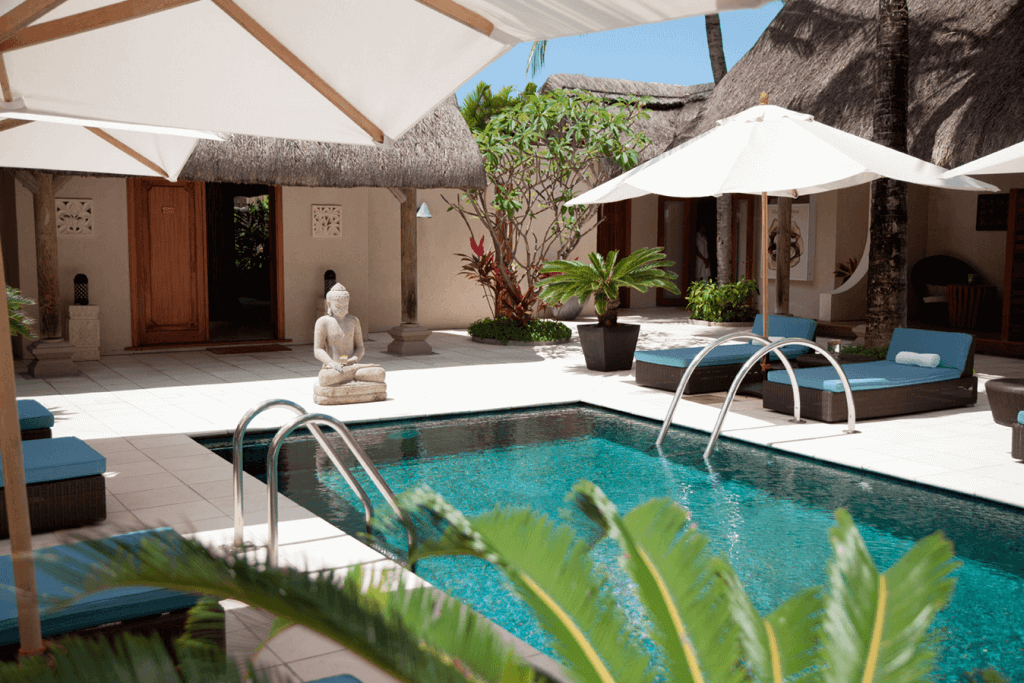The U Spa at Constance Le Prince Maurice described by Conde Nast Traveller as giving the best pedicure in Mauritius