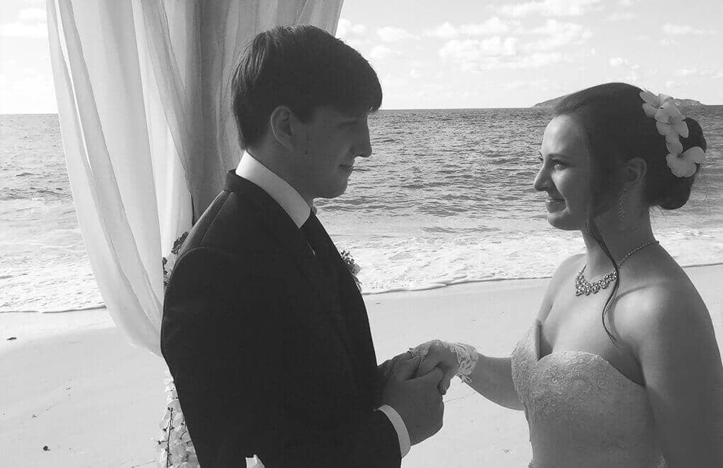 """Intimate weddings at Constance: Regina and Ben say 'I do"""""""