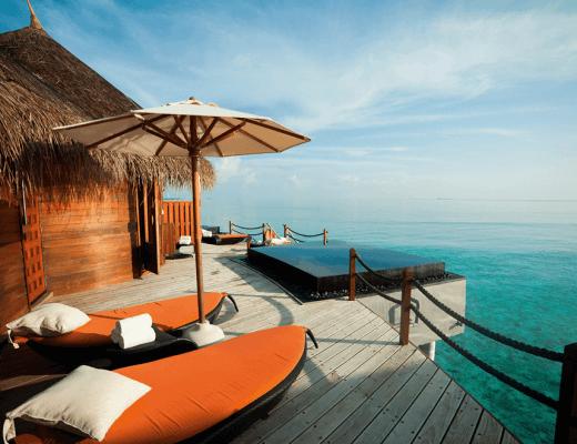 A view of the Halaveli Maldives Uspa
