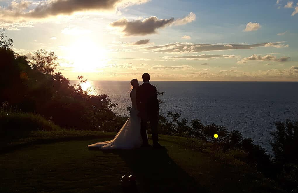 Weddings with a view: The sun sets on a perfect day