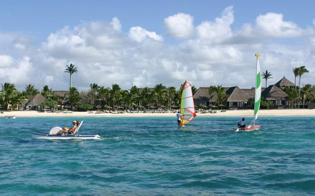 A family holiday at Constance Belle Mare Plage