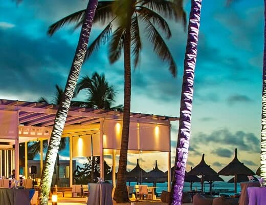 Blu Bar at Belle Mare Plage