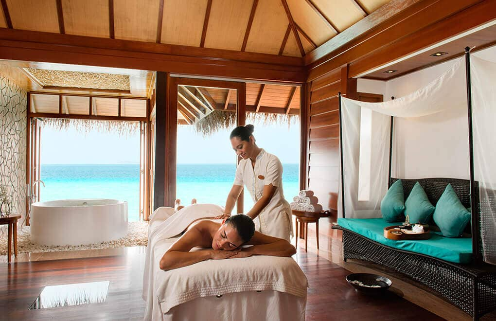 Massage at Constance Halaveli