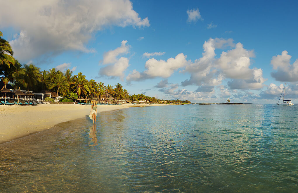 Constance Belle Mare Plage on the East Coast of Mauritius
