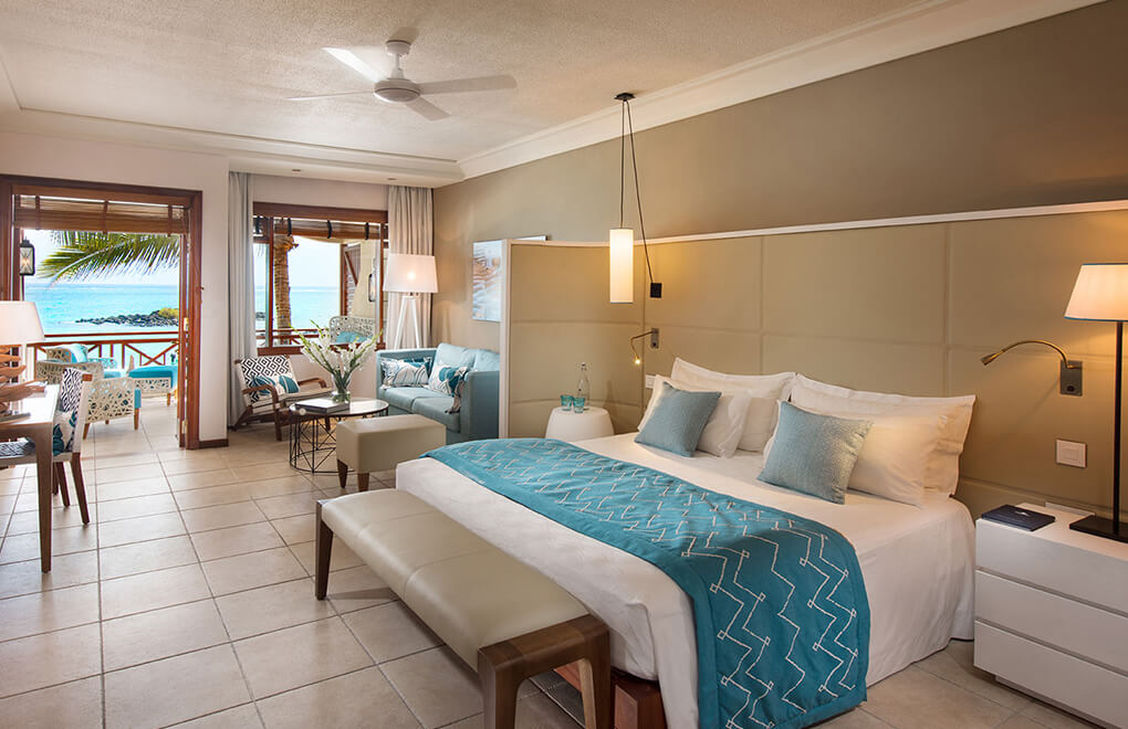 Junior Suite at Constance Belle Mare Plage is one of the more popular rooms at Constance Belle Mare Plage