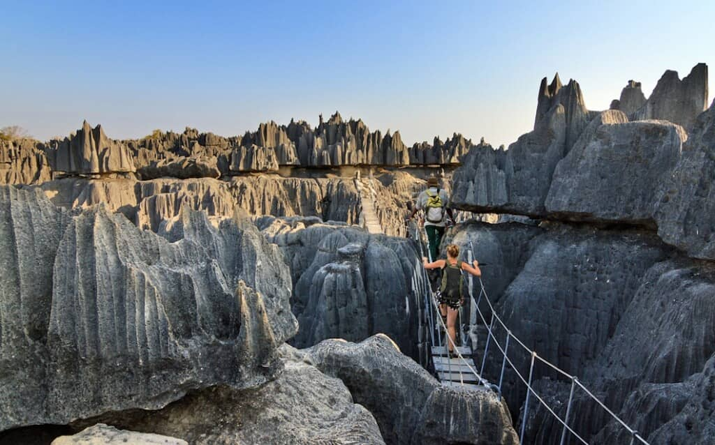 The Stone Forest in Madagascar is a sight to behold