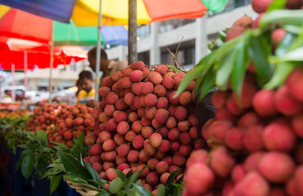 Markets on the East Coast of Mauritius