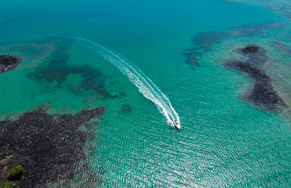 East coast of Mauritius is great for watersports