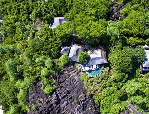 Hillside villa at Constance Ephélia, Seychelles