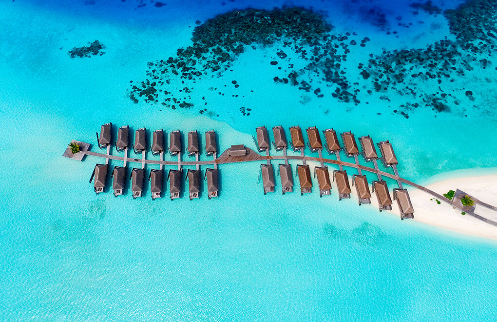 Paradise found in the water villas at Constance Moofushi, Maldives