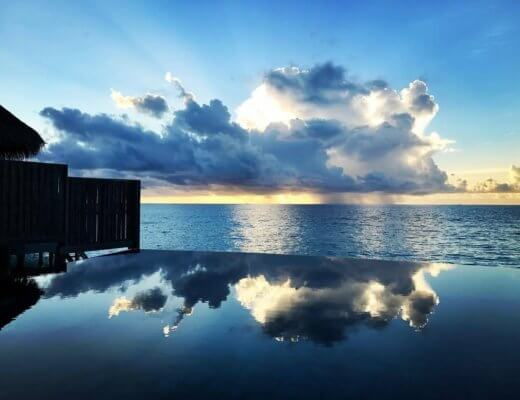 Out-of-this-world water at Constance Halaveli, Maldives