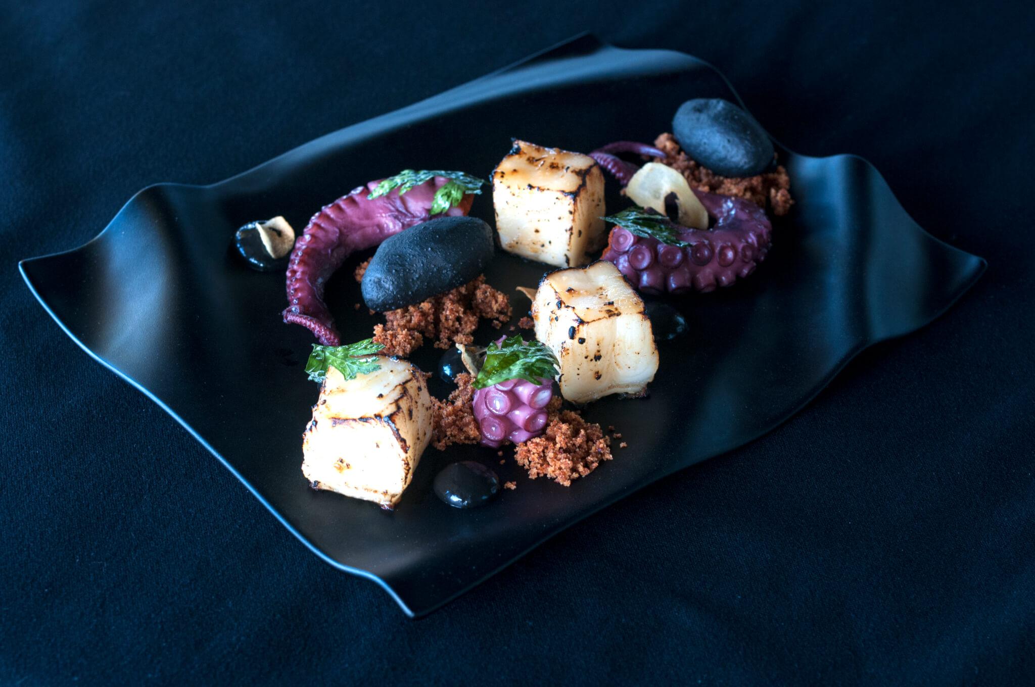Octopus dish Jing restaurant