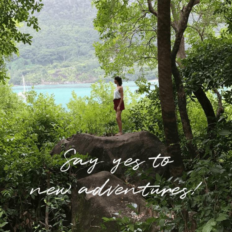 Embrace adventure