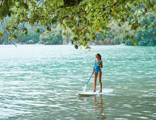 Constance Ephelia paddle board