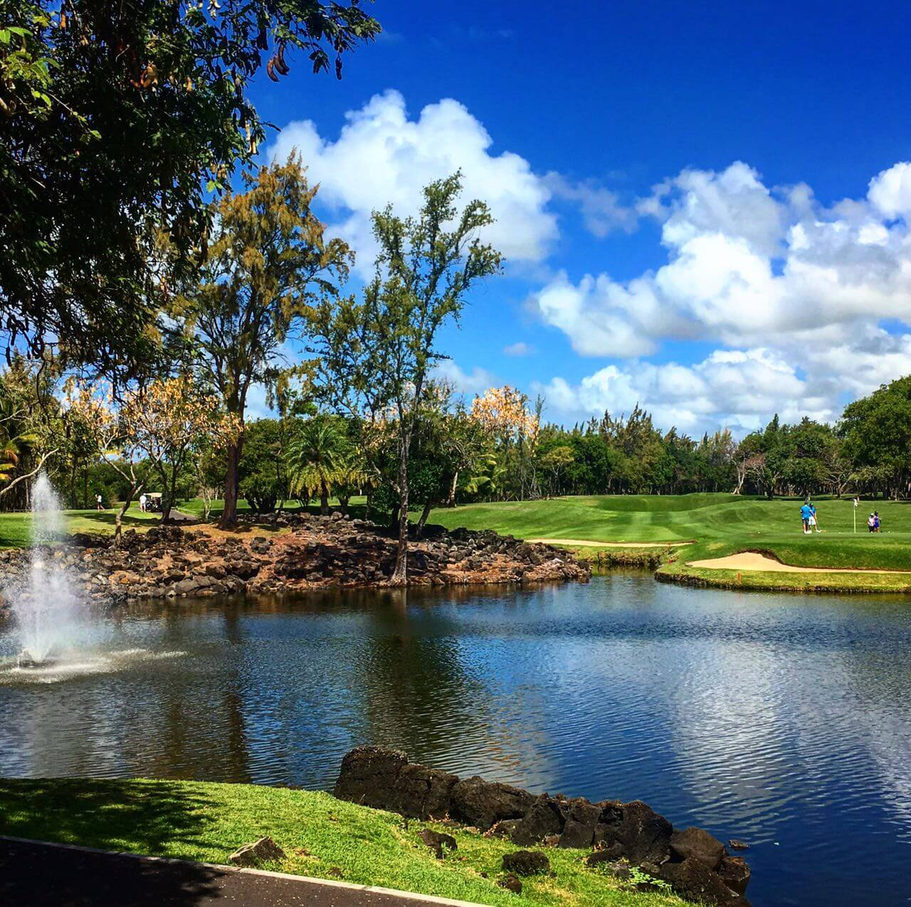 Constance Belle Mare Plage golf course