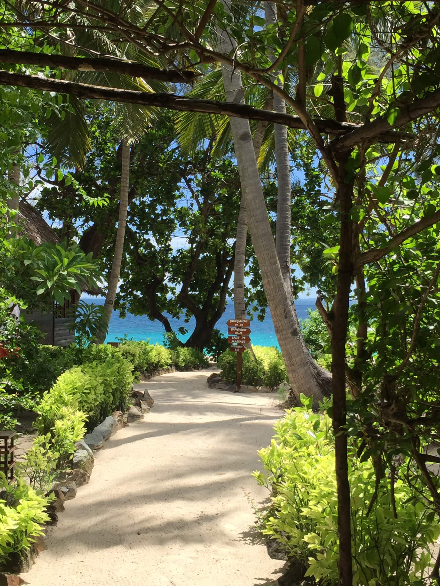 Constance Tsarabanjina path to paradise