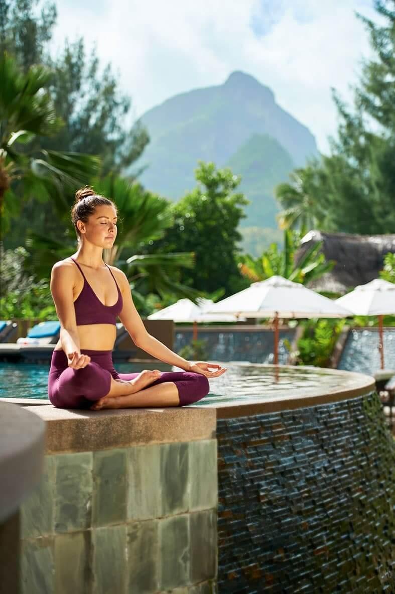 Meditation at Constance Ephelia Seychelles