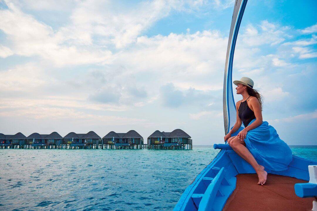 Boat trip at Constance Halaveli Maldives