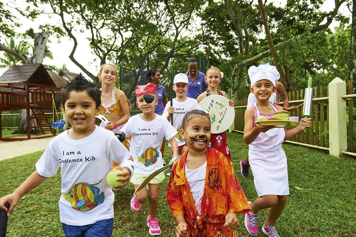 Kids club at Constance Prince Maurice Mauritius