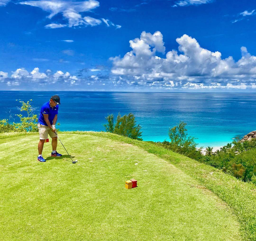 Golf at Lemuria Seychelles