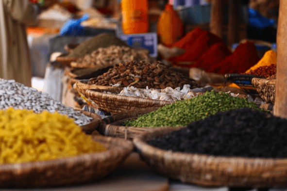 Spices fro Zanzibar