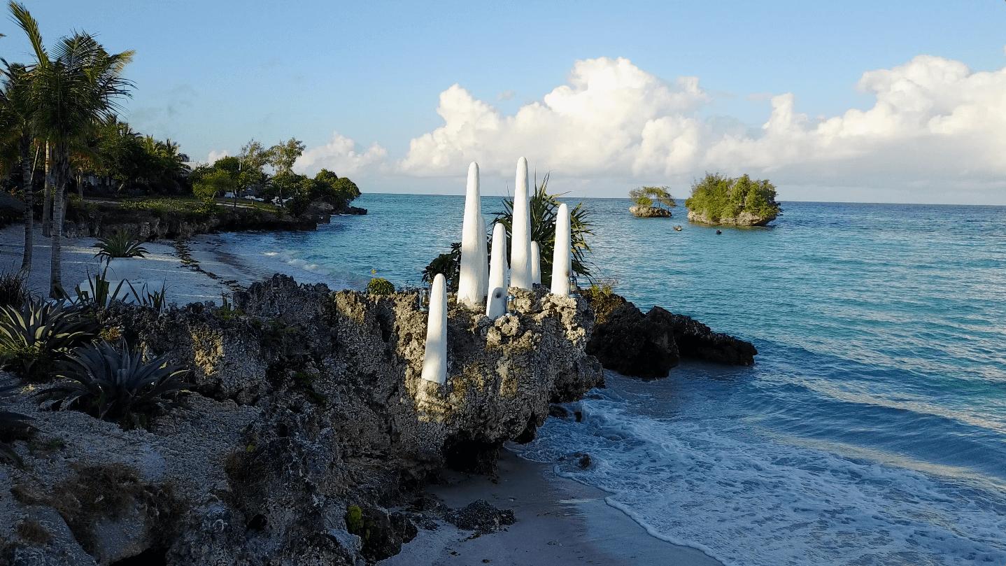 Pemba Island coastline