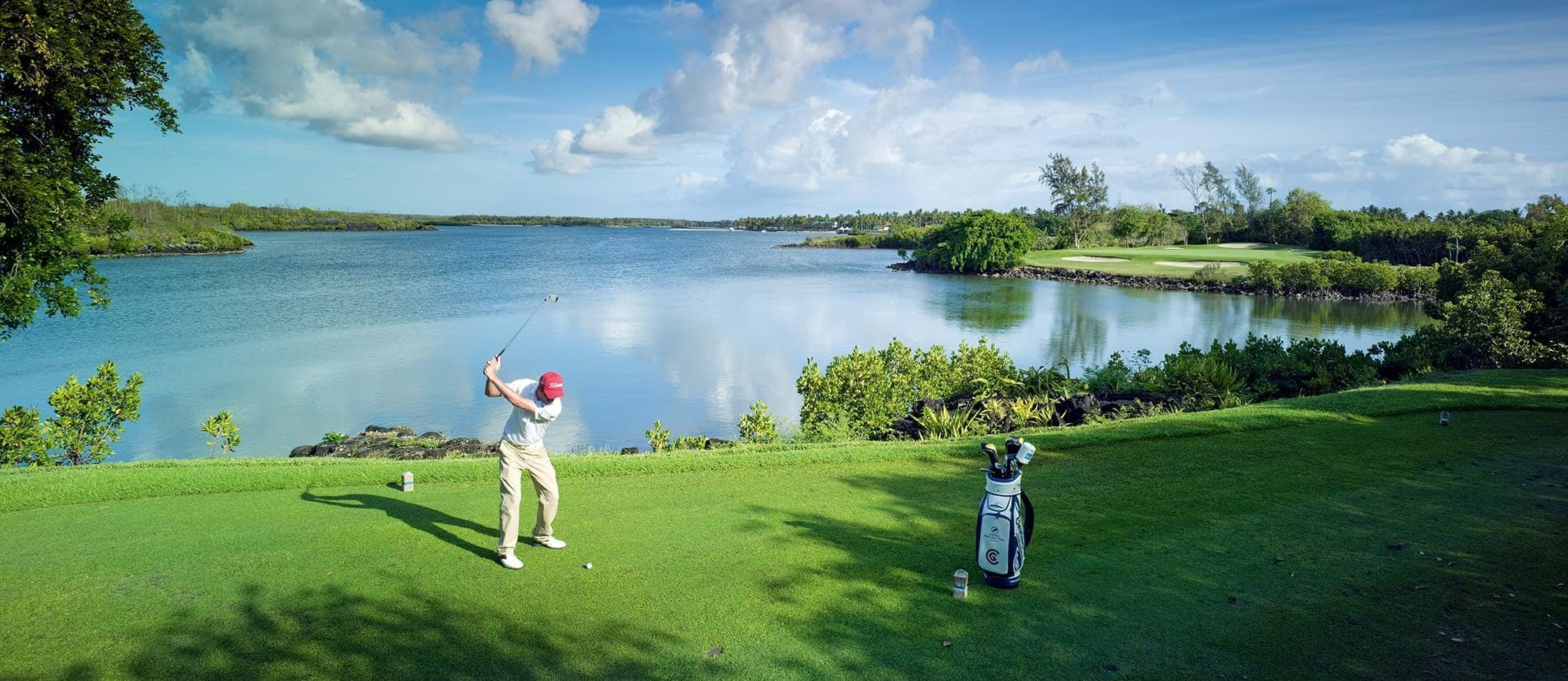 Come to the Indian Ocean to play golf