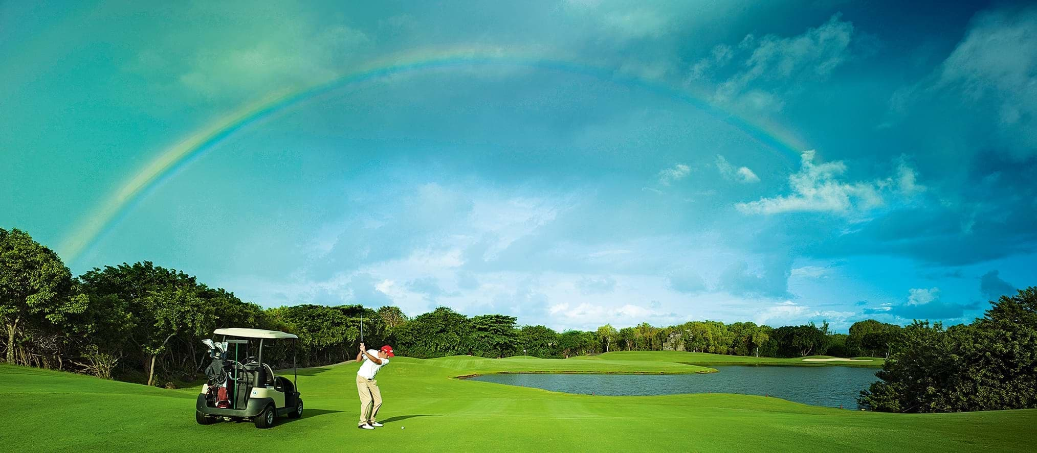 Take a golf holiday in the Indian Ocean