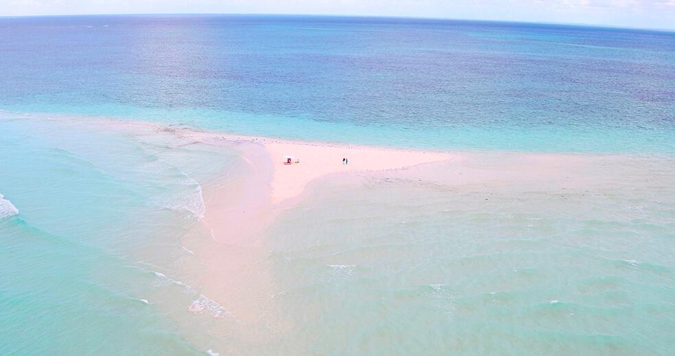 Pemba Zanzibar sand bank