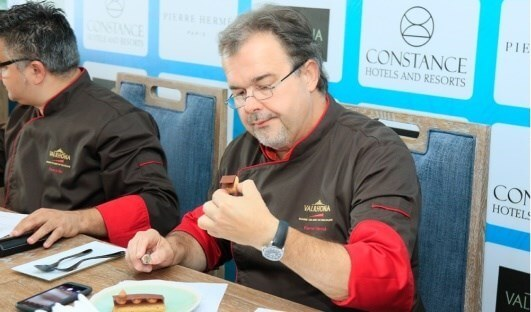 Pierre Hermé judging at FCBL
