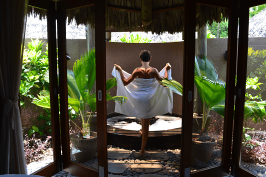 Spa time in the Seychelles