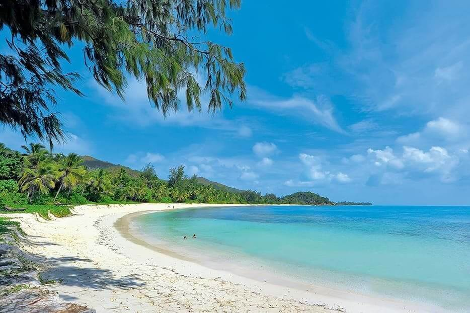 Beach at Lemuria Seychelles