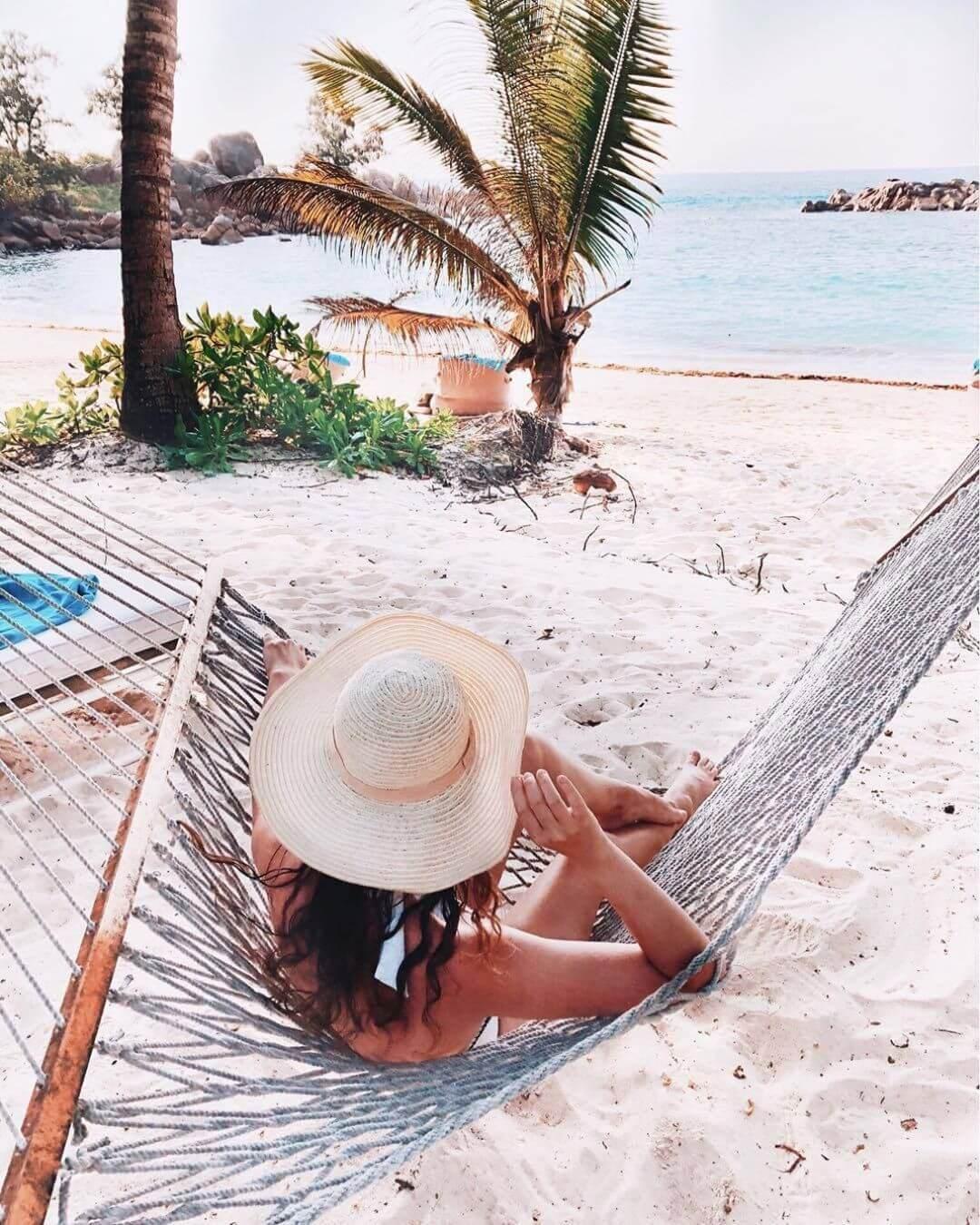 hammock beach hat Constance Lemuria Seychelles