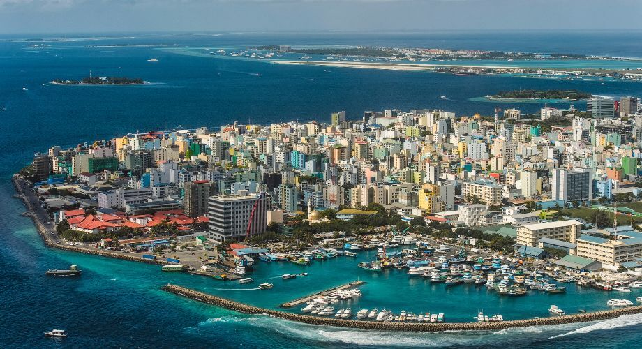 male maldives city scape