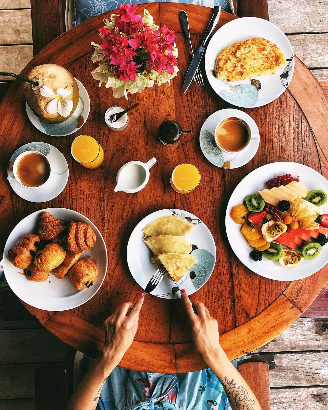 lily rose breakfast