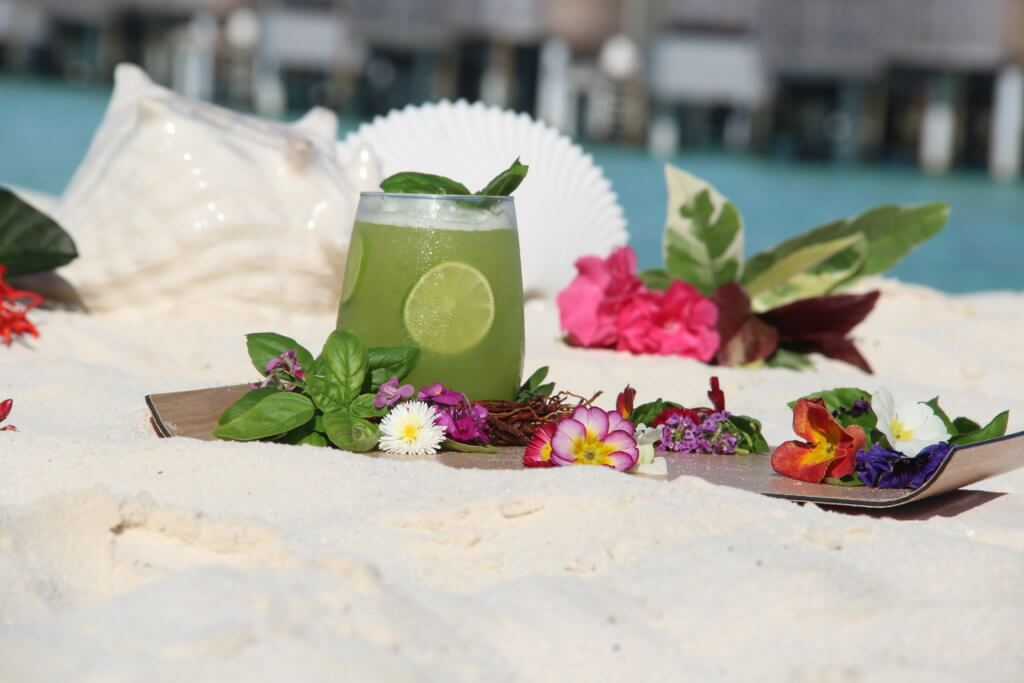 Hendricks Basil Smash at Constance Halaveli in Maldives