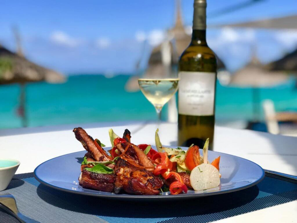 Spicy pork spare ribs - Constance Belle Mare Plage, Mauritius