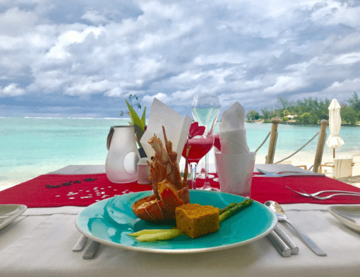 Romantic Dinner at Constance Belle Mare plage